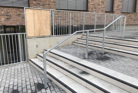 Geländer und Absturzsicherungen