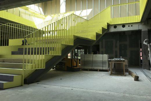 Stahl-Innentreppe